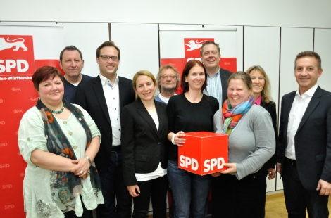 Neuer Vorstand der Ulmer SPD